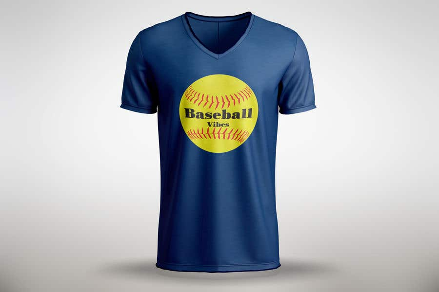 Конкурсная заявка №                                        12                                      для                                         Baseball/Softball Vibes T-shirt Design