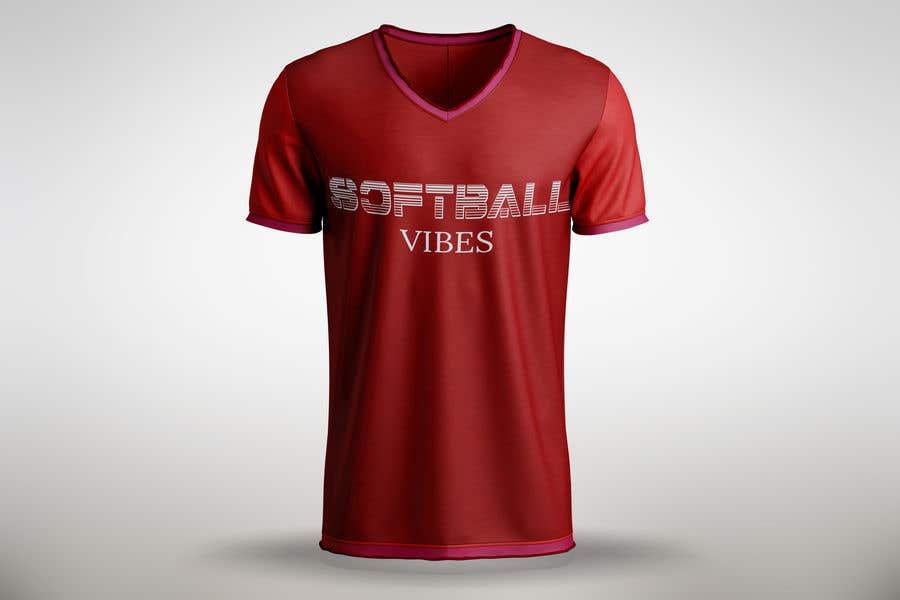 Конкурсная заявка №                                        54                                      для                                         Baseball/Softball Vibes T-shirt Design