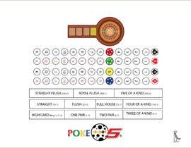 #2 for New Live Casino Table Game Layout Design Needed (EXPERIENCE WITH AMERICAN ROULETTE LAYOUT DESIGN PREFERRED) -- 2 by wandafril