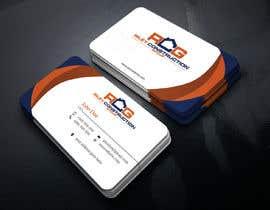 #216 untuk Need a business card layout made oleh ashikhosen134