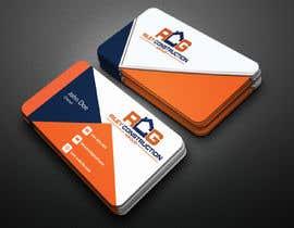 #224 untuk Need a business card layout made oleh shanzidashume