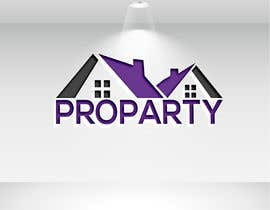 """Nro 26 kilpailuun Can you please create a logo for the word """"Proparty"""" using the house party theme ... the other images are the brand other brand colours and schemes käyttäjältä mstalza323"""