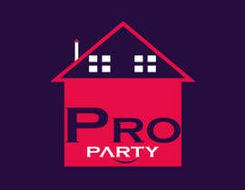 """Nro 18 kilpailuun Can you please create a logo for the word """"Proparty"""" using the house party theme ... the other images are the brand other brand colours and schemes käyttäjältä toufik912"""