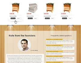 #6 untuk Website Design for newly designed beehive eCommerce site oleh SadunKodagoda