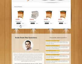 #10 untuk Website Design for newly designed beehive eCommerce site oleh SadunKodagoda