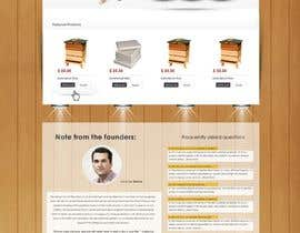 #12 untuk Website Design for newly designed beehive eCommerce site oleh SadunKodagoda