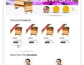 #22 untuk Website Design for newly designed beehive eCommerce site oleh SadunKodagoda