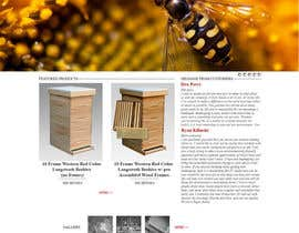 #19 untuk Website Design for newly designed beehive eCommerce site oleh D2D194