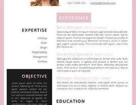 #31 untuk rewrite resume (CV) and write a cover later oleh karif88100