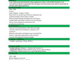 #24 untuk rewrite resume (CV) and write a cover later oleh sumon901