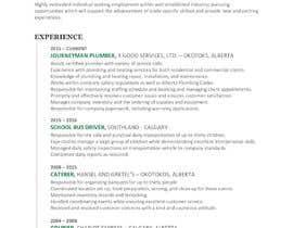 #22 untuk rewrite resume (CV) and write a cover later oleh kgold13