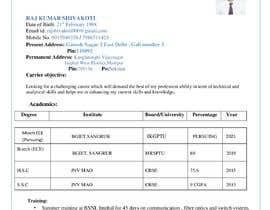 #29 untuk rewrite resume (CV) and write a cover later oleh rajshivakoti000