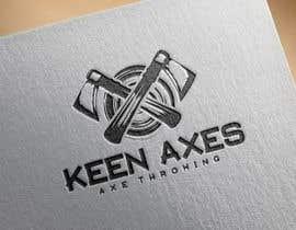Nro 112 kilpailuun Logo design for an Axe Throwing business käyttäjältä fokirmahmud47
