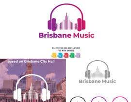 Maxbah tarafından Brisbane Music Logo Design için no 25