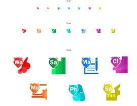 #47 for 7 icons are required to be designed as a shortcuts based on our logo by Ichwan94