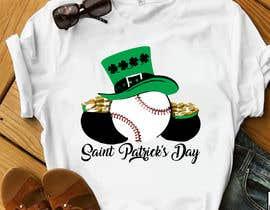 #15 for T-Shirt Design: Baseball Saint Patrick's Day Design by mdminhajuddin