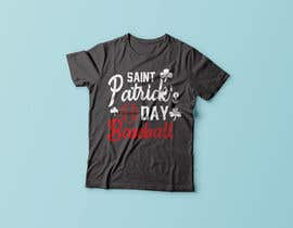 #21 for T-Shirt Design: Baseball Saint Patrick's Day Design by rayhanb551