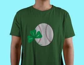 #28 for T-Shirt Design: Baseball Saint Patrick's Day Design by kazirahat1007