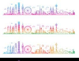 hossaingpix tarafından Image - Graphic of multiple city skylines için no 10