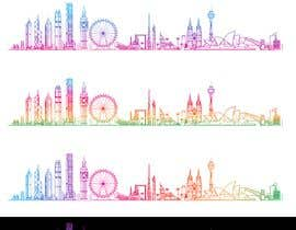 hossaingpix tarafından Image - Graphic of multiple city skylines için no 13