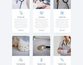 #6 for Website design for a healthcare e-service provider af joycoder2