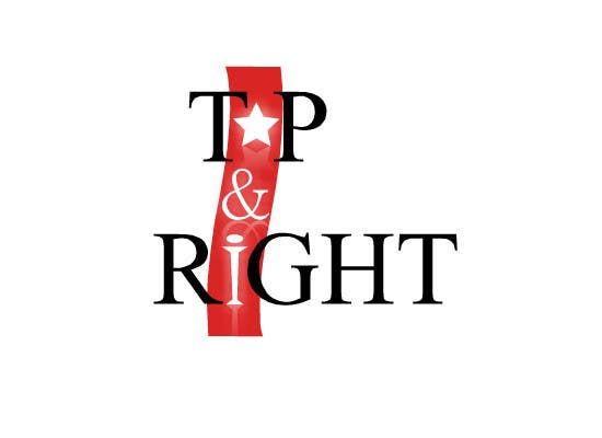 "Penyertaan Peraduan #                                        104                                      untuk                                         Design a Logo for ""Top & Right"""