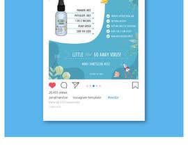 Nro 51 kilpailuun Design me a single promotional flyers for my brand new hand sanitizer for Kids (Instagram post size) käyttäjältä Jiaulhuda