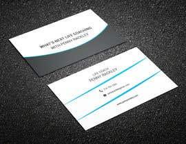 #197 untuk Business card Design (Life Coach seeks your design advice!) oleh Jmimdesigner