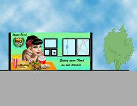 #16 for I need graphic design for fast food kiosk exterior! by arnehachaudhary