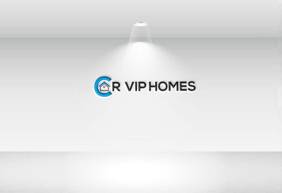 """Contest Entry #                                        57                                      for                                         logo for real estate """"Cr Vip Homes"""""""