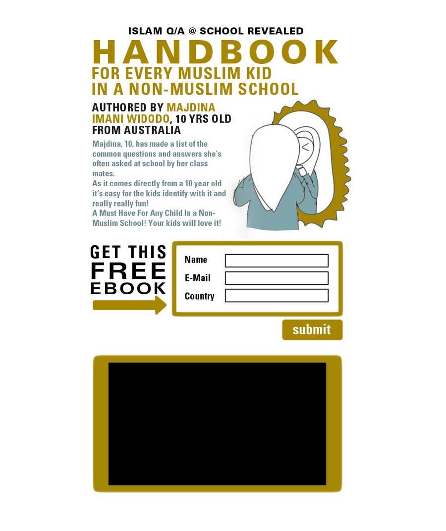 Bài tham dự cuộc thi #                                        17                                      cho                                         Landing Page Design For EBook
