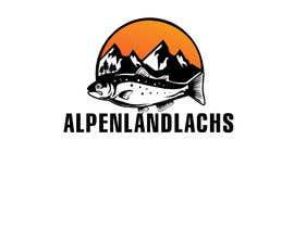 #54 untuk Logo Desing Alpenlandlachs oleh flyhy