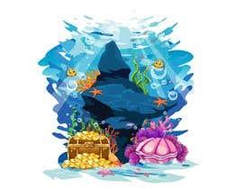 #23 для Cartoon Mermaid Scene от sayedkaysar