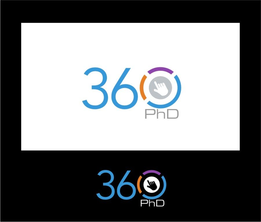 Contest Entry #55 for Logo Design for 360 ph.d. application
