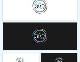 nº 82 pour Logo Design for 360 ph.d. application par erupt