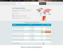 nº 8 pour Design a Job Board WordPress Themes mockup par nilsoft123