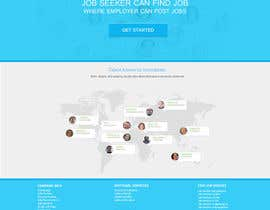 nº 4 pour Design a Job Board WordPress Themes mockup par trinity0