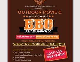 youshohag799 tarafından Flyer/Poster For School Movie Night and BBQ için no 6
