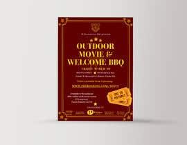 ClauGonzalez95 tarafından Flyer/Poster For School Movie Night and BBQ için no 13