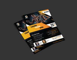 #38 for Trade Flyer size HALF of Lettersize (8.5 x 11) Vertical - Design by designmenia