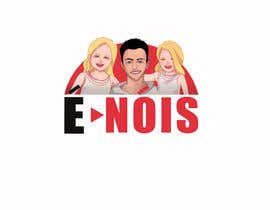 #71 для I need a logo with the phrase  É Nóis and is for a vlog channel and I have identical twin daughters, i really want the words in a cool font and something nice but if you can add something twins related that is a bonus. от Mariam00mari