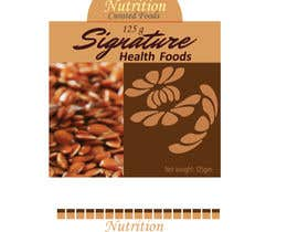 #61 for Product Label Design for Food Packet (Standup Barrier pouch) by newtonmoulick