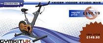 Banner Ad Design for Gym Equipment Supplier için Graphic Design3 No.lu Yarışma Girdisi