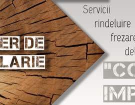 #19 pentru Creare banner outdoor-  atelier tamplarie lemn de către kristofihans