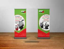 Nro 43 kilpailuun Design Pop-up Banners käyttäjältä kashifkiduniya
