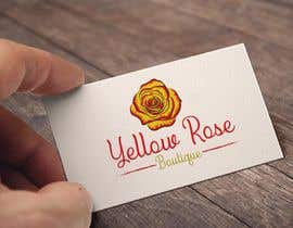 #206 for Logo Design For Yellow Rose Boutique - Clothing Store by MohammadFahim70