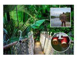 """nº 9 pour visuelle """"Séjour d'initiation à la chasse en milieu amazonien"""" par WebConnect2020"""