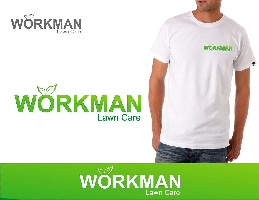 "#155 for Logo Design for ""Workman Lawn Care by taffy1529"