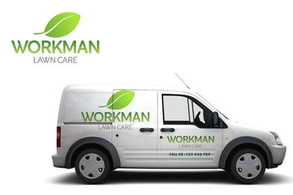 "#142 for Logo Design for ""Workman Lawn Care by santy99"