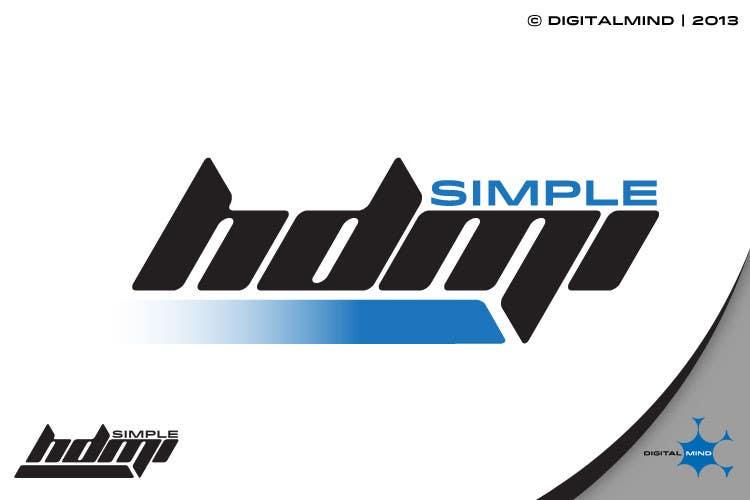 Kilpailutyö #                                        15                                      kilpailussa                                         Logo Design Simple HDMI